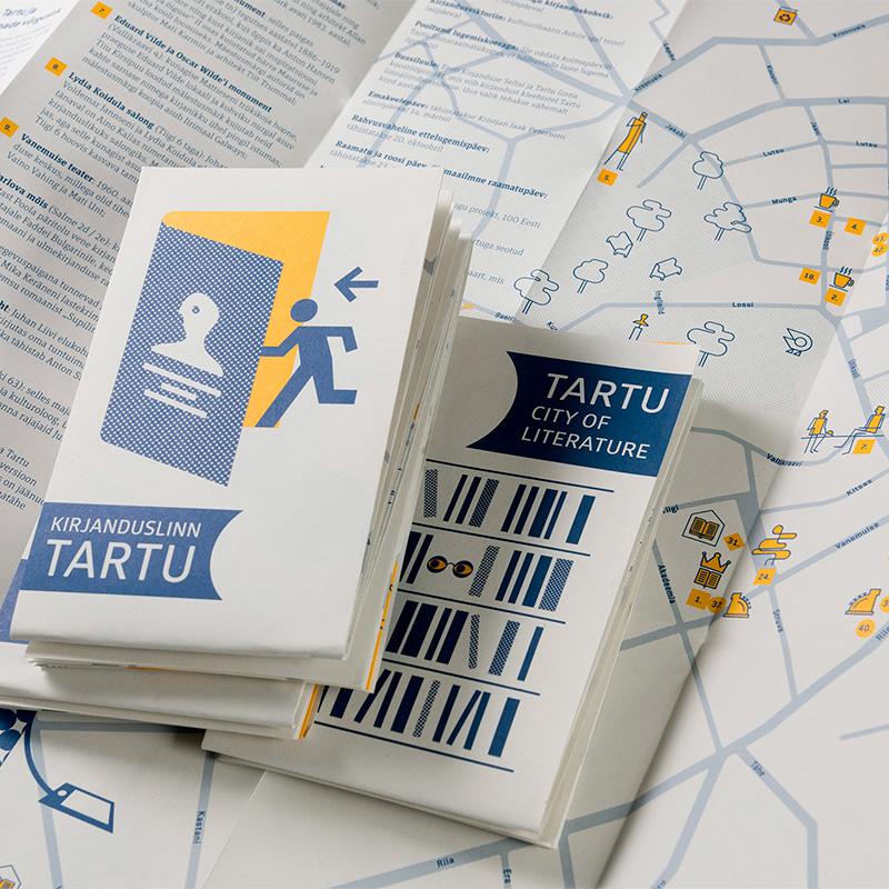 Tartu kirjanduslik kaart